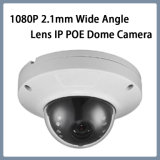CCTV Security 1080P IR Night Vision Onvif Vandalproof Dome 2.1mm Wide Angle Lens Dome IP Poe Camera