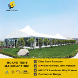 Double High Peak Glass Walls Wedding Tent for 1, 000 People Capacity (SDM)