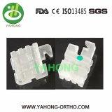 Orthodontic Ceramic Brackets - Slot Base Transparent Ceramic Brackets