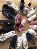 Nine Colors Girl Stock Shoes