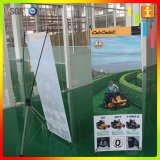 Steel X Banner Stand Promotion