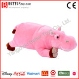 Stuffed Animal Soft Pink Hippo Plush Toys for Baby Kids