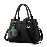Fashion Colorful PU Leather Cheap Lady Tote Handbag