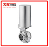 "1"" Normally Closed Pneumatically Actuated Butterfly Valve"