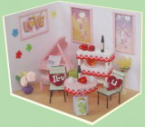 Kids Birthday Gift Education Toy Doll House