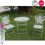 Outdoor Metal Bistro Set Antique White Color