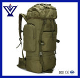 Green Outdoor Large Backpack Hiking Camping Climbing Bag (SYSG-1811)