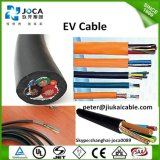 Industrial EV Charging Power Cord Cable with TUV