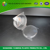 Clear Clamshell Hinged Lid Salad Container