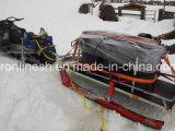 Platform Ski Sled/Snow Sledge/Timber Ski Sled/Snow Sled Trailer/Universal Sleigh/Utility Sleigh/Transport Sled/ for Atvs/Snowmobiles/Quad/UTV/Side by Side