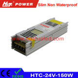 24V-150W Constant Voltage Slim Non Waterproof LED Power Supply