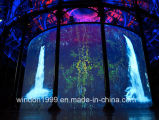 3D Holographic Projection System Holographic Mesh Screen for Hologram Live Show