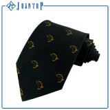 Fashion Design Solid Color100% Silk Custom Logo Necktie