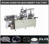 Four Pillar Struction Plastic Lid Making Machine