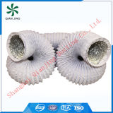 White Combi PVC Aluminum Flexible Duct for Air Conditioning System