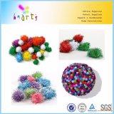 High Quality 1cm 2cm 3cm Glitter POM POM