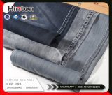 Facotroy Supply Black 100%Cotton Slub Denim Fabric 6.6oz