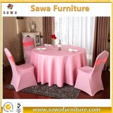 Durable Polyester Banquet Table Cloth with Spandex Chair Cover