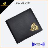 Hot Sale RFID Blocking Sheep Leather Man Wallet
