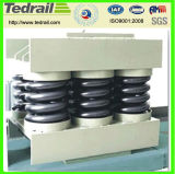 Heavy Load Compression Coil Spring Forged