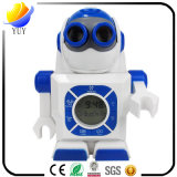 LED Projection Alarm Clock Robot Styling with Luminous