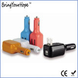 2-in-1 Dual USB Car Wall Charger (XH-UC-027)