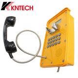 Waterproof SIP VoIP Telephone Industrial Display Kntech Knsp-16 LCD