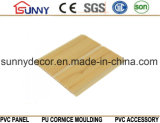New Wood Design Flat Laminated PVC Wall Ceiling Panel, Plastic Panel, Cielo Raso De PVC
