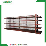 Double Side Metal Retail Stores Display Shelves