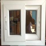 White PVC Sliding Window with Press Lock