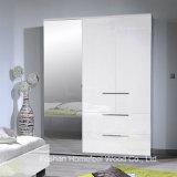 Modern Bedroom Furniture 3 Door Mirrored Wardrobe Dresser (WB46)