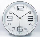 2017 New 12 Inch Fashion Design Plastic Wall Clock