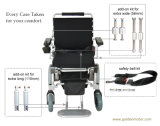 Power Wheelchair with 24V 15ah LFP Battery, for Disablity, Lightweight and Foldable