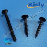 Bugle Head Drywall Screw Black Phosphated Fine Thread