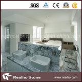 White Marble Bathroom Vanity Top/Countertop for Star Hotel
