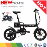 16 Inch 36V 250W Folding Electric Bike with Shimano 6 Speed