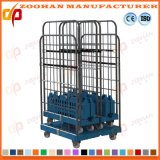 Revolutionary Folding Logistic Storage Wire Roll Pallet Cage Container (Zhra60)