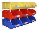Plastic Stack and Hang Storage Bin (PK004)