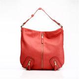 Wholesale Lady Handbag Red PU Leather Handbag (MBNO037042)