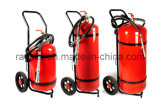 100kg Abc Trolley Fire Extinguisher