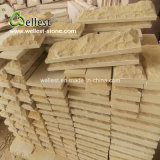 Yellow Beige Sandstone Wall Decorative Tile