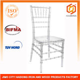 Clear Polycarbonate Resin Chiavari Chair for Banquet