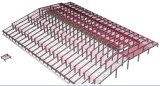 Pre-Engineer Steel Structure Shed/Workshop (MV-08)