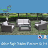 Half Round Rattan with Modern Design Outdoor Sofa Set