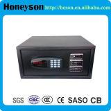 18mm Solid Steel Bolt Black Safe Deposit Box for Hotel