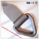 Triangular Drop Forged Lashing Ring with Bracket