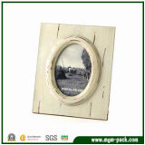 Eco-Friendly White Rectangle Wooden Gift Picture Frame