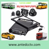 3G/4G/GPS/WiFi 4CH SD Card Mobile DVR for Vehicle/Bus/Car/Truck CCTV System