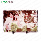 Freesub Sublimation Rock Photo Frame with Clock 40*25cm (SH-37)