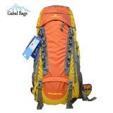 50L Professional Outdoor Durable Nylon Climbing Mountaineering Hiking Backpack